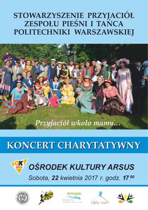 Koncert charytatywny - plakat